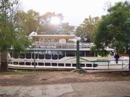 The boat we took on the Rio de la Plata. - March 2008