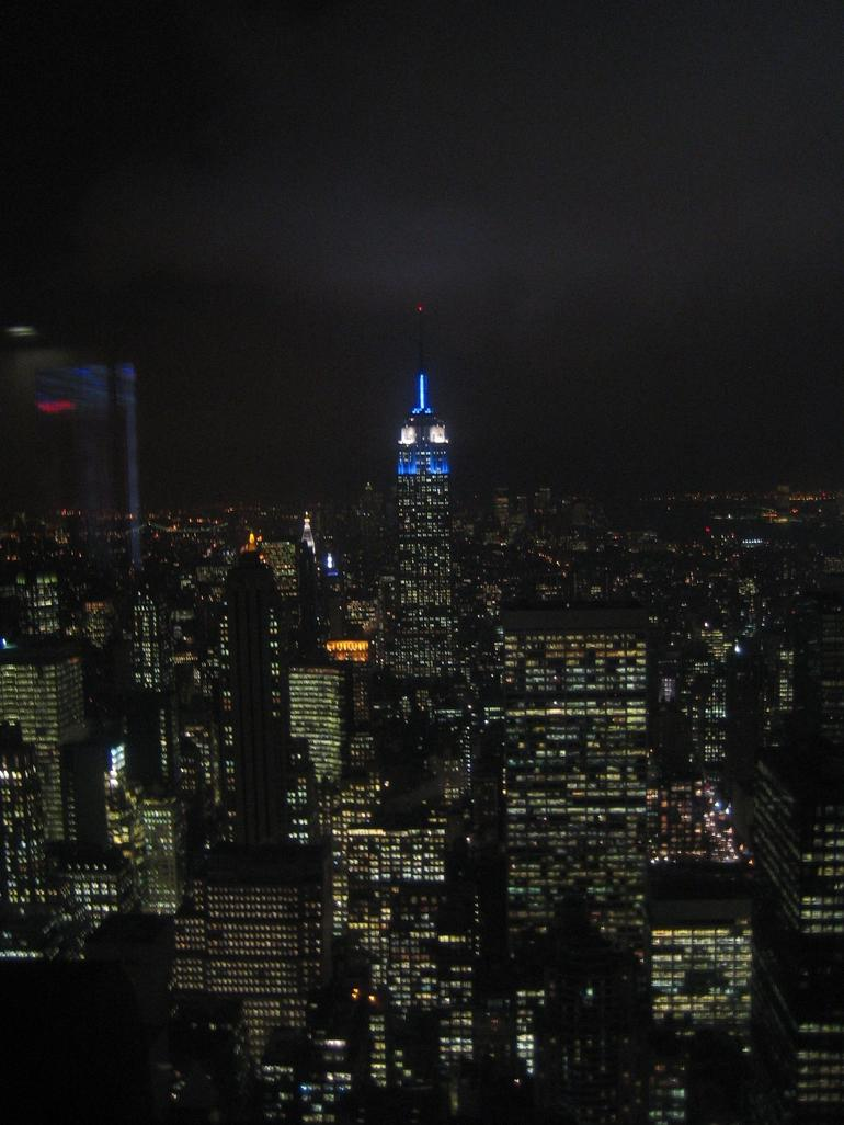 View from the Top of the Rock - New York City