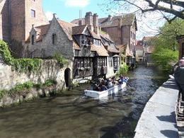 Leisurely boat tour on Bruges canal network , Paul S - July 2017