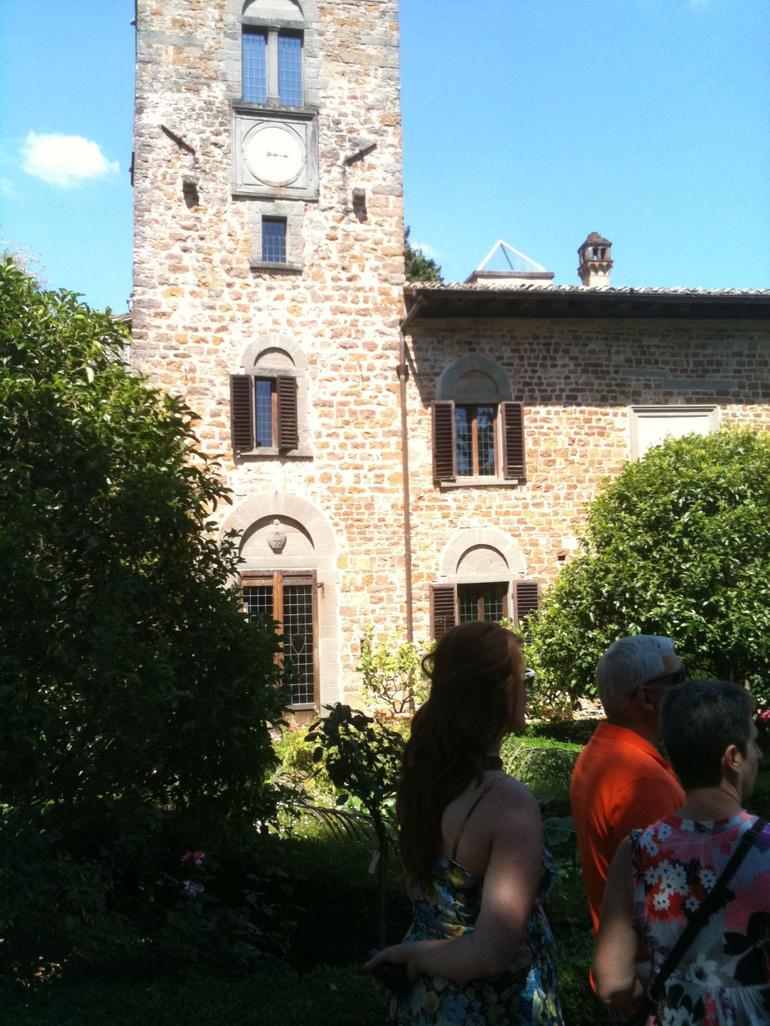 CAF Tours Chianti region wine tour - Florence