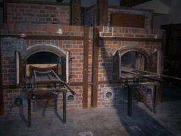 The Nazis used these ovens to burn their victims after they were gassed or tortured to death., LAFRAGIA M - November 2008
