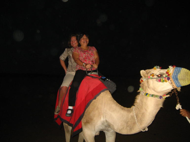 First Camel Ride - Dubai