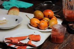 Fresh fruit to make the salsa, Bandit - December 2013