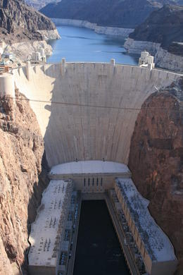 The Hoover Dam , kush - April 2014