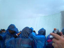 In the Maid of the Mist boat , Chris H - July 2013