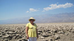 This is me Sandy and I am just chillin in death valley , Sandra D - August 2014