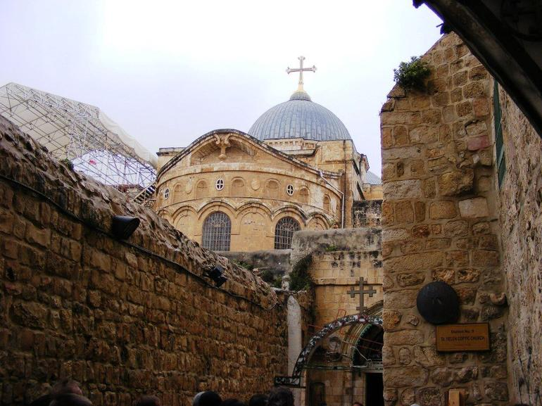 Jerusalem Church of the Holy Sepulcre - Tel Aviv