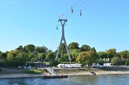 The river cruise passes by and underneath Cologne's cable cars, also recommended. , David Lally - September 2015