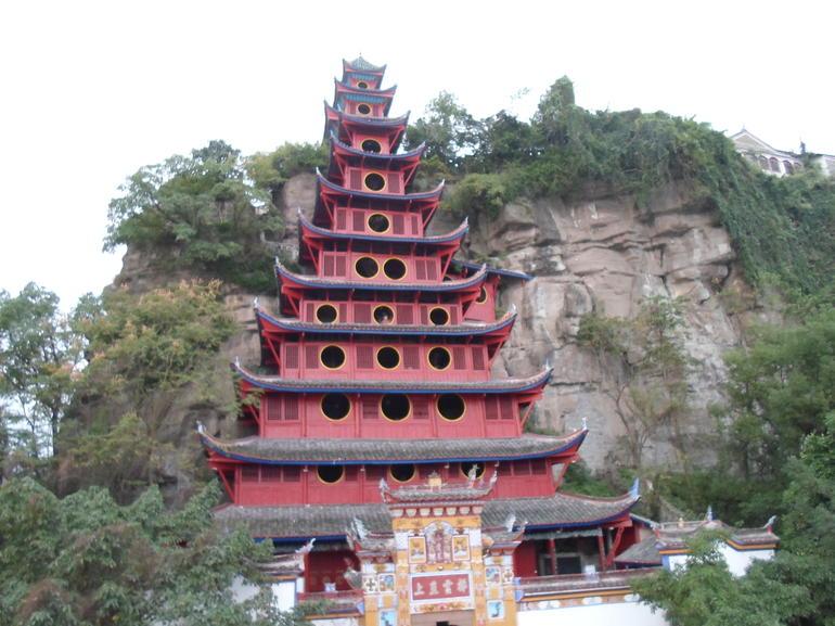 Shibaozhai Pagoda - Yangtze River