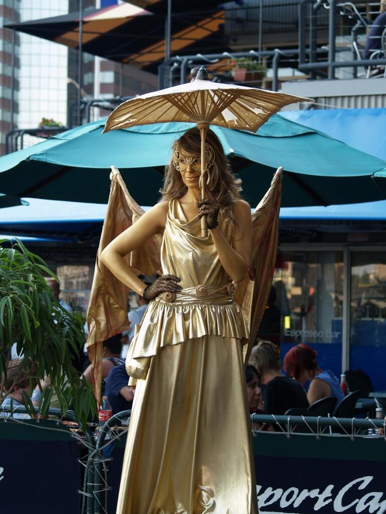 The Gold Lady - New York City