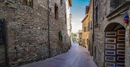 A street in San Gimignano. , Brian C - April 2017