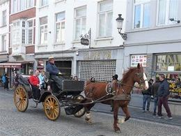 Carriage ride through the shopping district , Paul S - July 2017