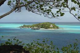 An island hideaway off Bora Bora , Neville B - October 2017