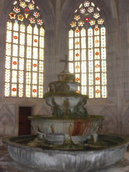 The Fountain House was the Abbey's washing room until the mid-1500s. , Savvy Sightseer - August 2014
