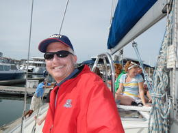 Starting our trip at the Marina, need to keep applying sunscreen while out on the water ! , Michael S - March 2013