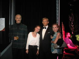Sean Connery, Gerri, Daniel Craig and Patti, Edward S - May 2012