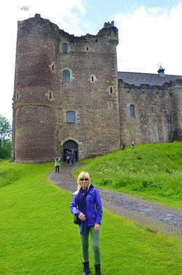 Outside of Doune Castle Monty Python, Outlander. , Susan P - July 2016