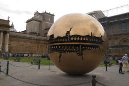 From til Vatican garden. , Dorthe Ginge J - May 2014