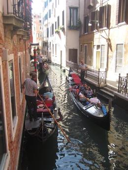 Cruising through beautiful Venice Gondola Ride , Kim F - September 2013