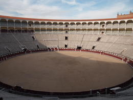 Las Ventas is one of the biggest bullrings in the world!, Rachel - December 2013