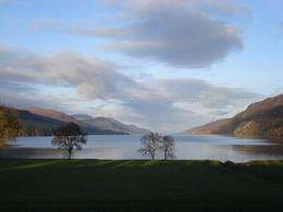 Scottish Highlands in November. No photo shop required. What a beautiful day!!! , Lisa B - December 2010