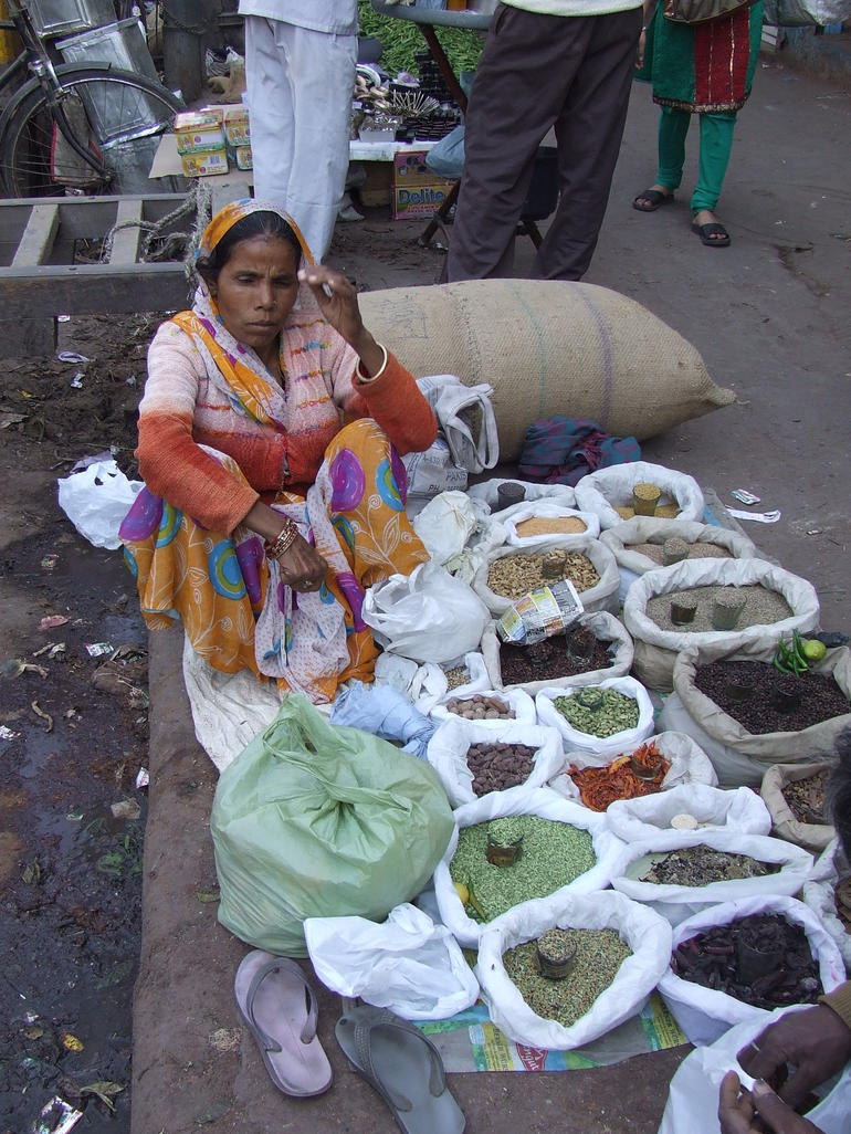Spice market - New Delhi