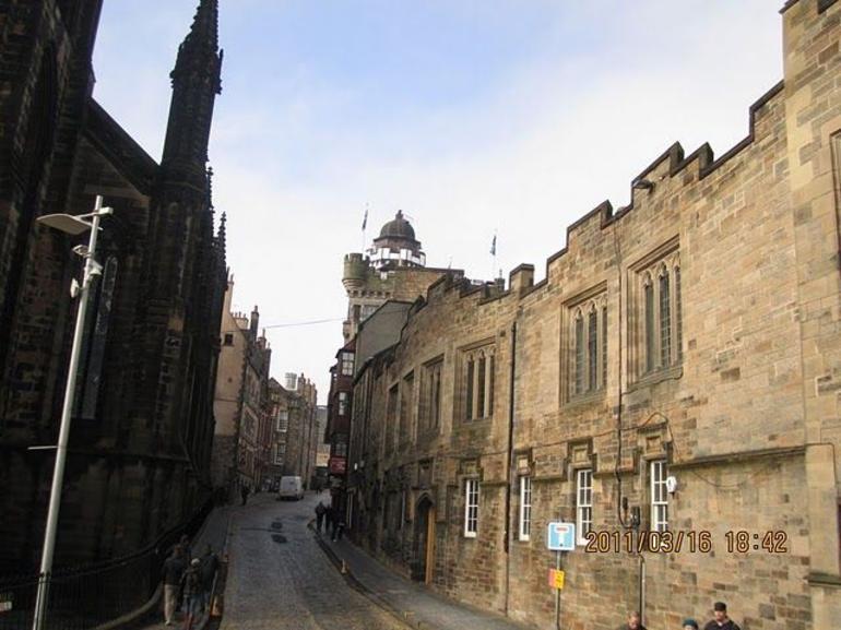 Streets of Edinburg - Edinburgh