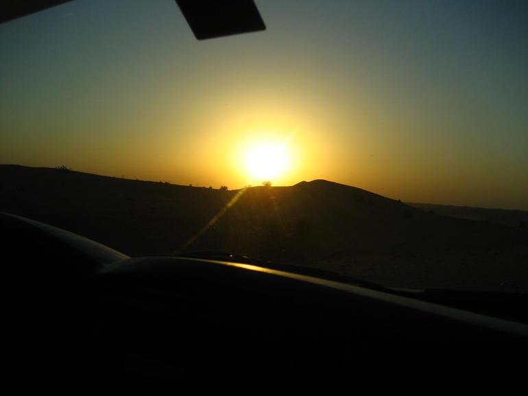Stunning Desert Sunset - Dubai