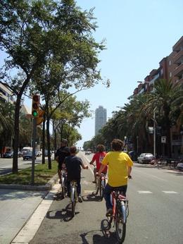 Barcelona Half-Day Bike Tour, Jennifer J - August 2009