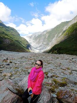 The valleywalk towards the glacier , L D J - April 2013