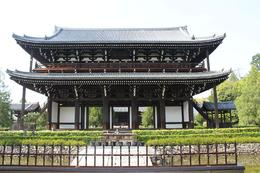 The main temple of Tofukuji Temple , Tinnike - May 2013