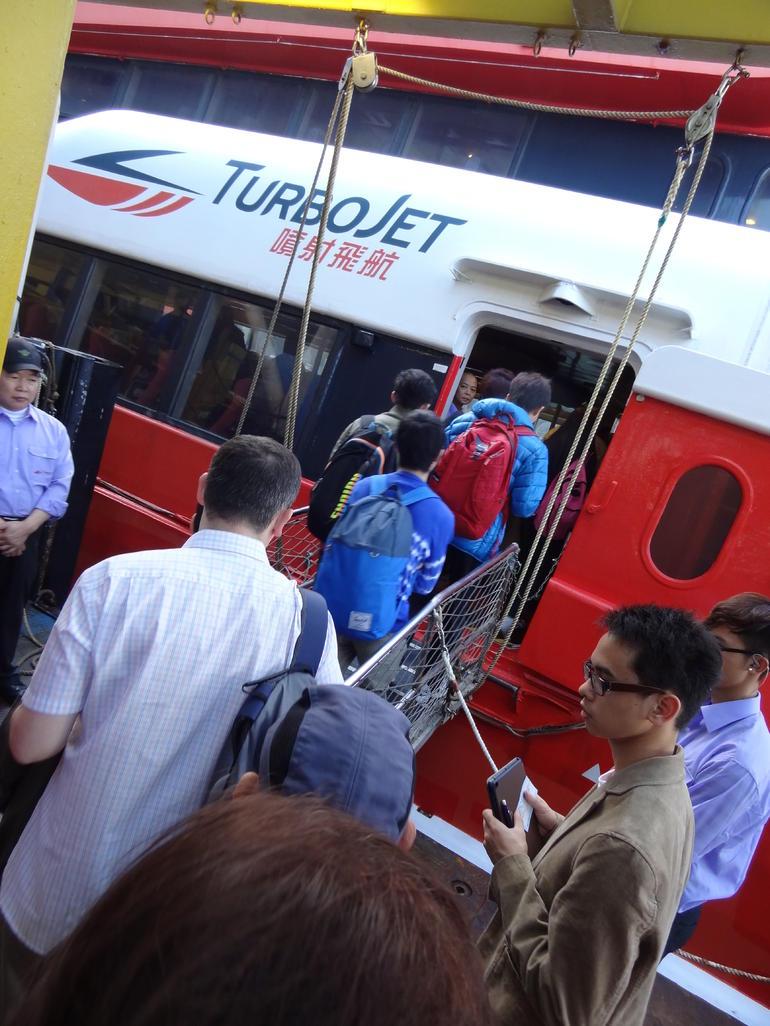 TurboJET Fast Ferry - Macau
