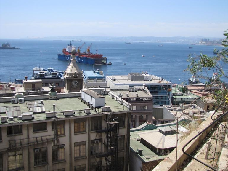 Valparaiso Harbour View - Santiago