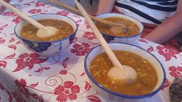 Local lentil based soup , Lisa W - June 2015