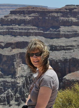 In front of the Grand Canyon , zuska.miller - May 2013