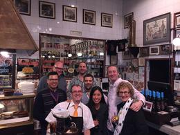 Wine tasting and tapas bar tour with Enrique centre. , Robert A - December 2016