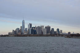 Manhattan skyline from the 1-hr water taxi ride , marcusdburnette - December 2016