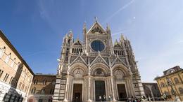 Siena Cathedral facade. , Brian C - April 2017