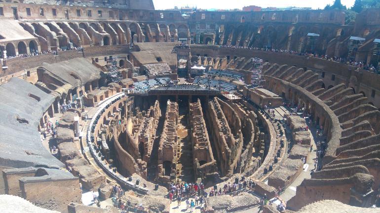 Gladiator's Arena and Colosseum Underground Tour