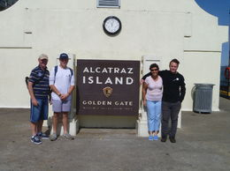 We escaped from Alcatraz, we even met an ex prisoner on the day. , kim t - September 2015