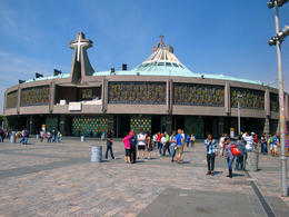 New Cathedral at the Shrine of Guadalupe. , William D - April 2013