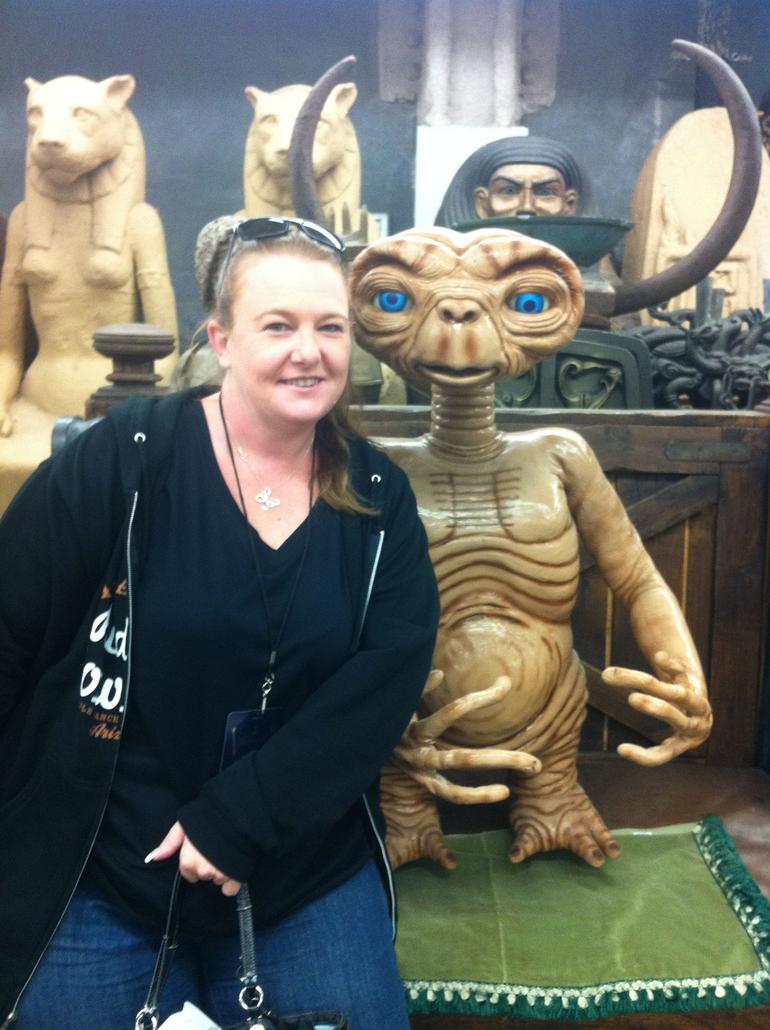 I got to meet ET! - Los Angeles