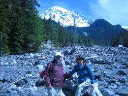 Mt Rainer , Patricia T - July 2011