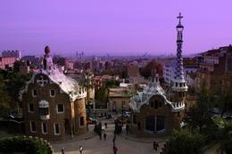 Gaudi's city , Natasha K - December 2011