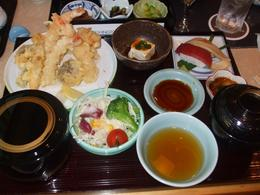 Delicious traditional Japanese food! It was an awesome meal and a highly recommended tour, Melanie L - September 2009