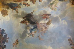 Some of the beautiful ceiling artwork in Versailles, the place is truly breathtaking. , Leah68 - August 2011
