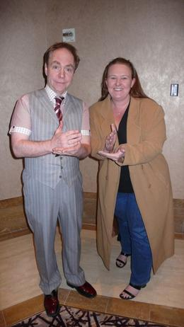 Here I am at the Penn and Teller show at the Rio Suite Hotel and Casino., JennyC - February 2008