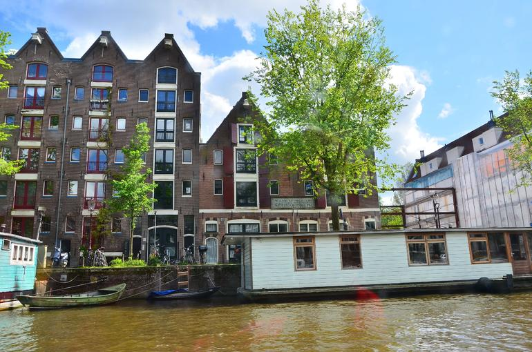Stone and Boat Houses - Amsterdam