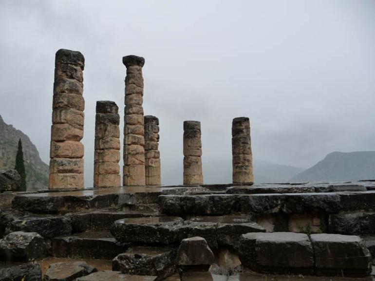 Temple of Apollo at Delphi - Athens