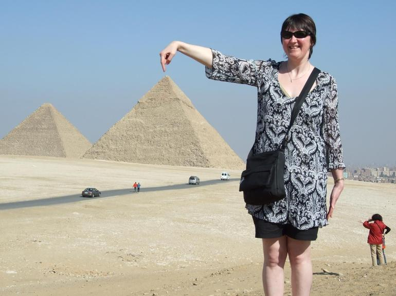 This is a pyramid - Cairo